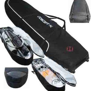boardbag equipo kitesurf concept