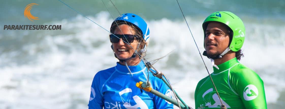 Debería usar casco para practicar kitesurf