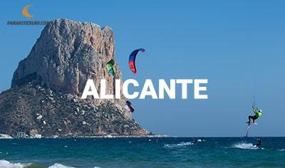 Lugares para navegar en Alicante, información de escuelas, vientos