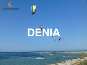 Lugares para navegar en Dénia, información de escuelas, vientos