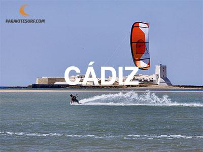 Lugares para navegar en Cádiz, información de escuelas, vientos